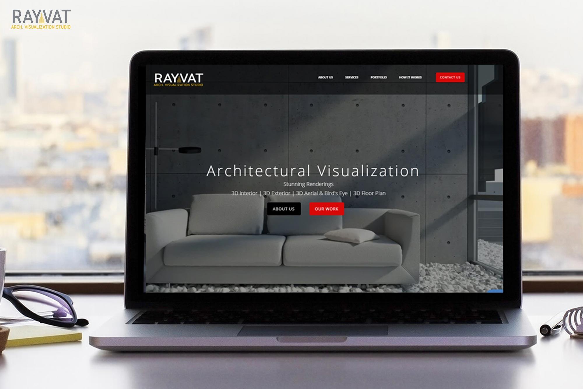 website screen short