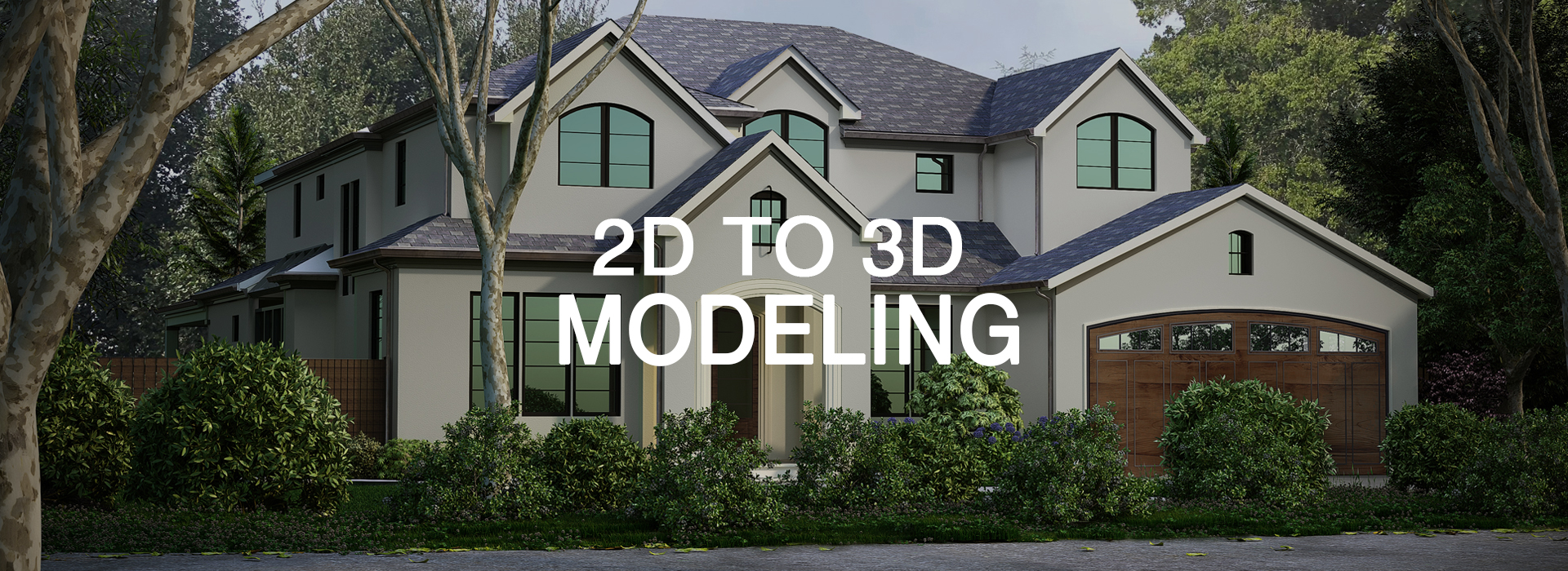 2D to 3D Modeling Services