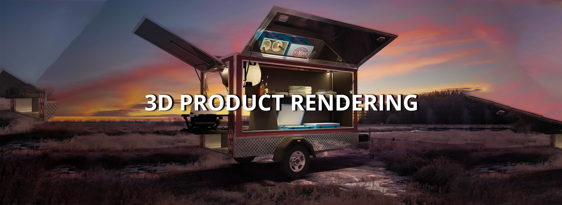 3D Product Rendering