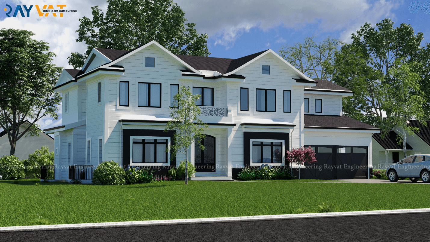 Case Study on 3D House Rendering