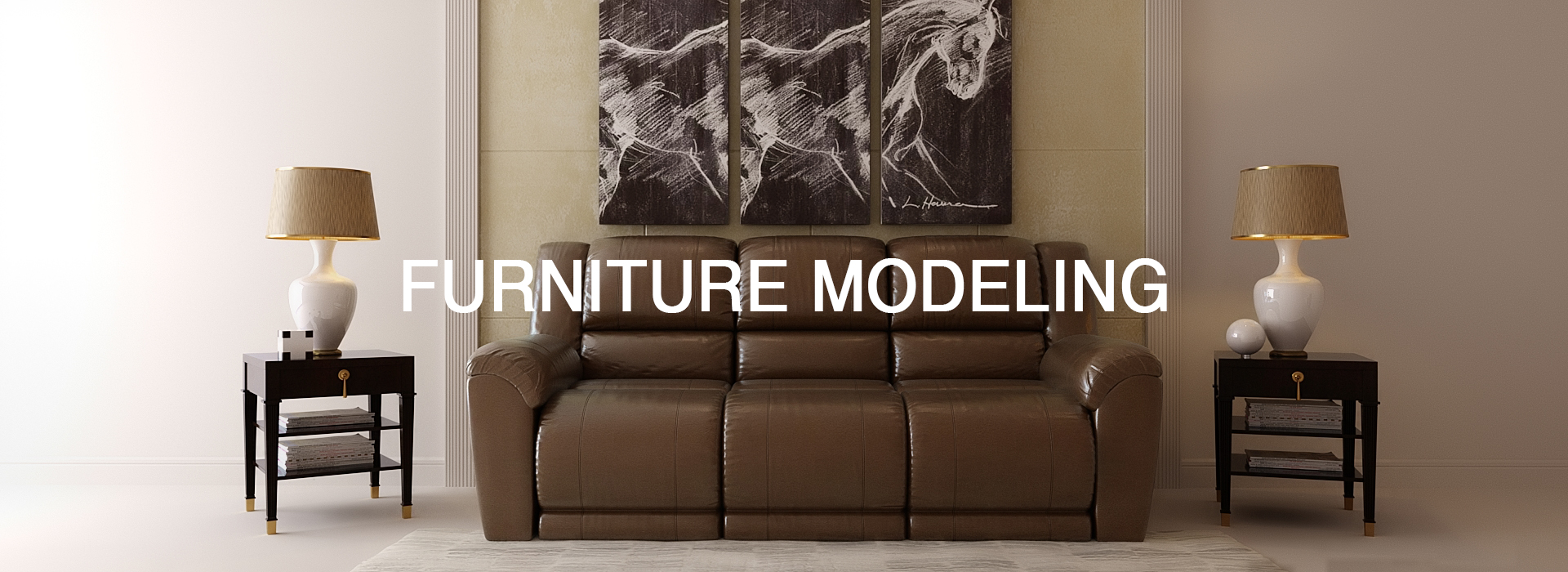 Furniture Modeling Services