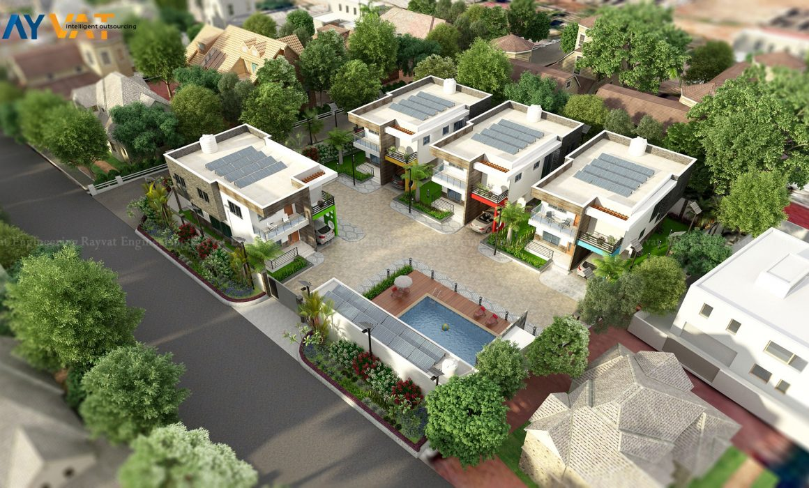 3D Architectural Exterior Rendering – Creating A Virtual World of Building Designs