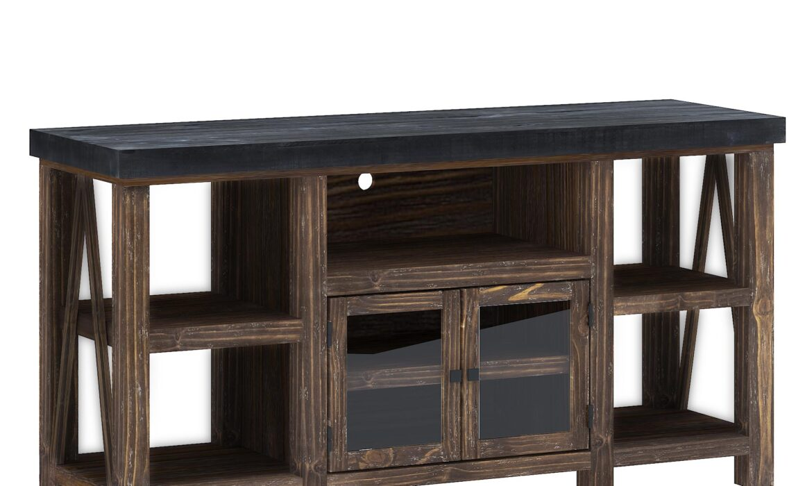 3D CLASSIC FURNITURE RENDERING – SPENCER TV STAND