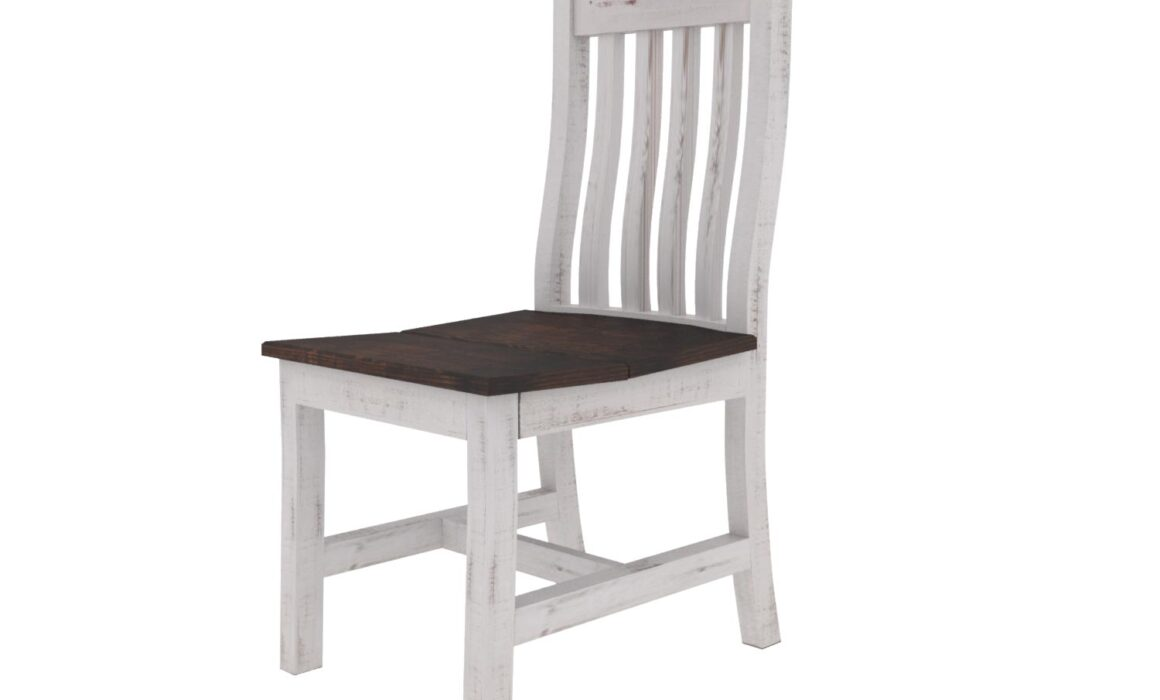 3D RENDERING FOR DINING AREA – WHITE RODEO TOP DINING CHAIR