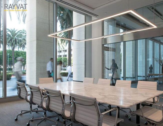 'MAKE IDEAS HAPPEN' – 3D RENDERING OF MEETING ROOM, ATLANTA, GEORGIA