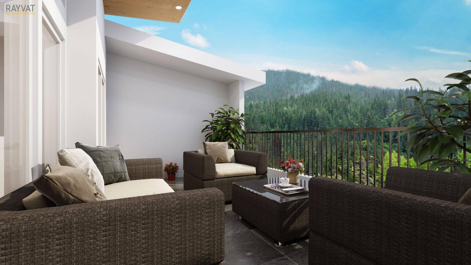 A Dreamy Deck, 3D Deck Render, Washington, USA