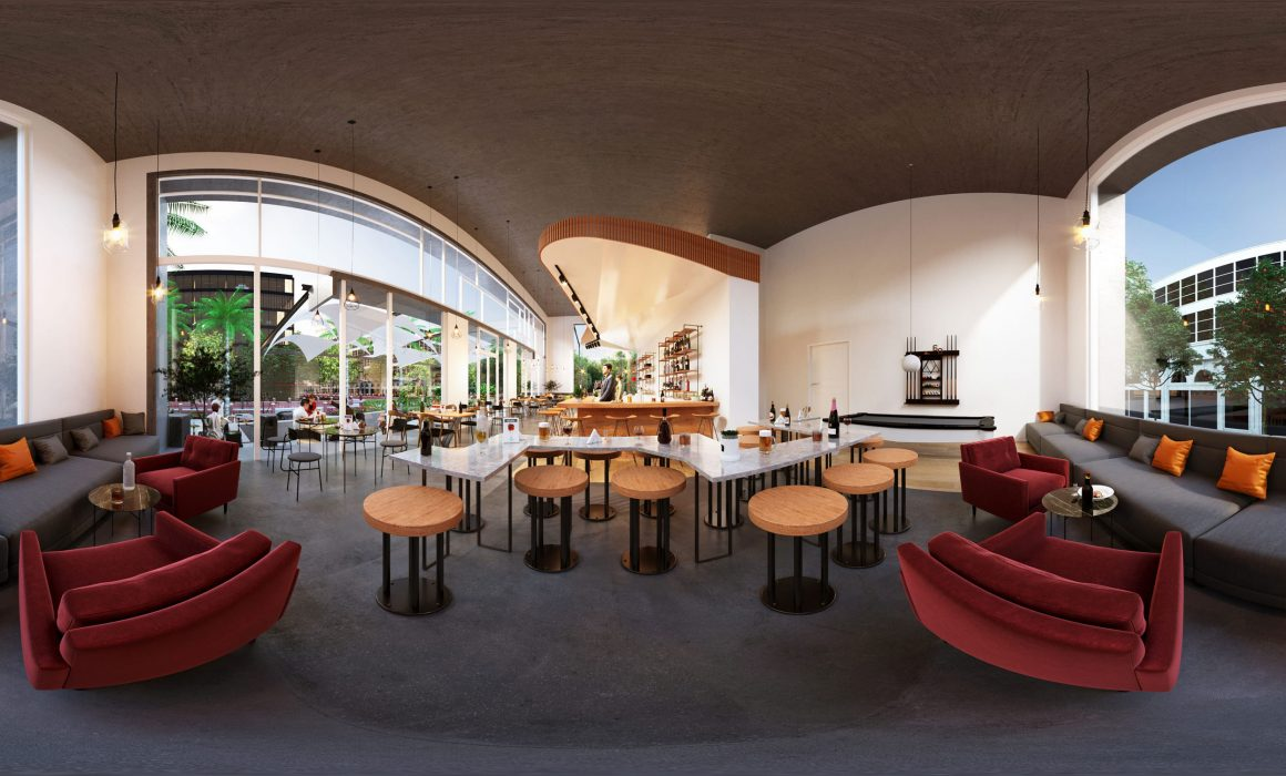 360 View of Beer Bar