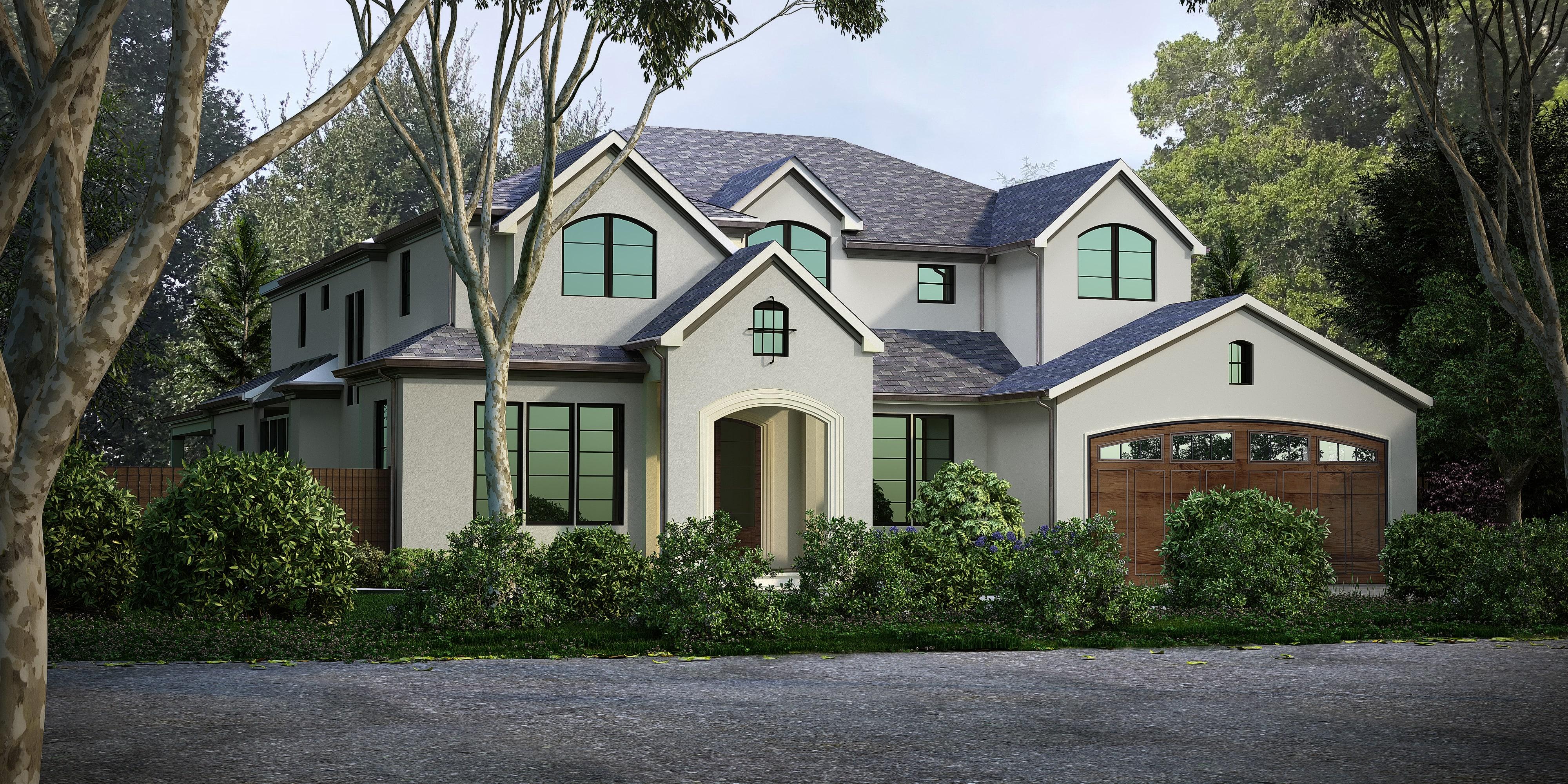 3D Exterior Rendering Bungalow Tampa Florida