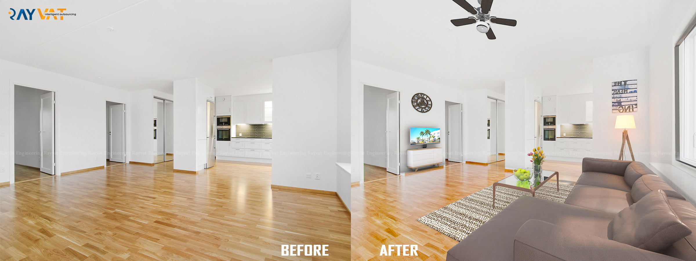 3D Virtual Staging