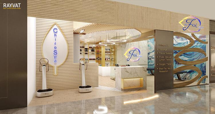 'A-Holistic-Wellness-Center'-3D-Rendering-of-Airport-Terminal-California-USA