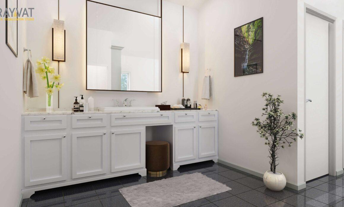 'PEACEFUL OASIS' – 3D RENDER OF BATHROOM, ORLANDO, FLORIDA