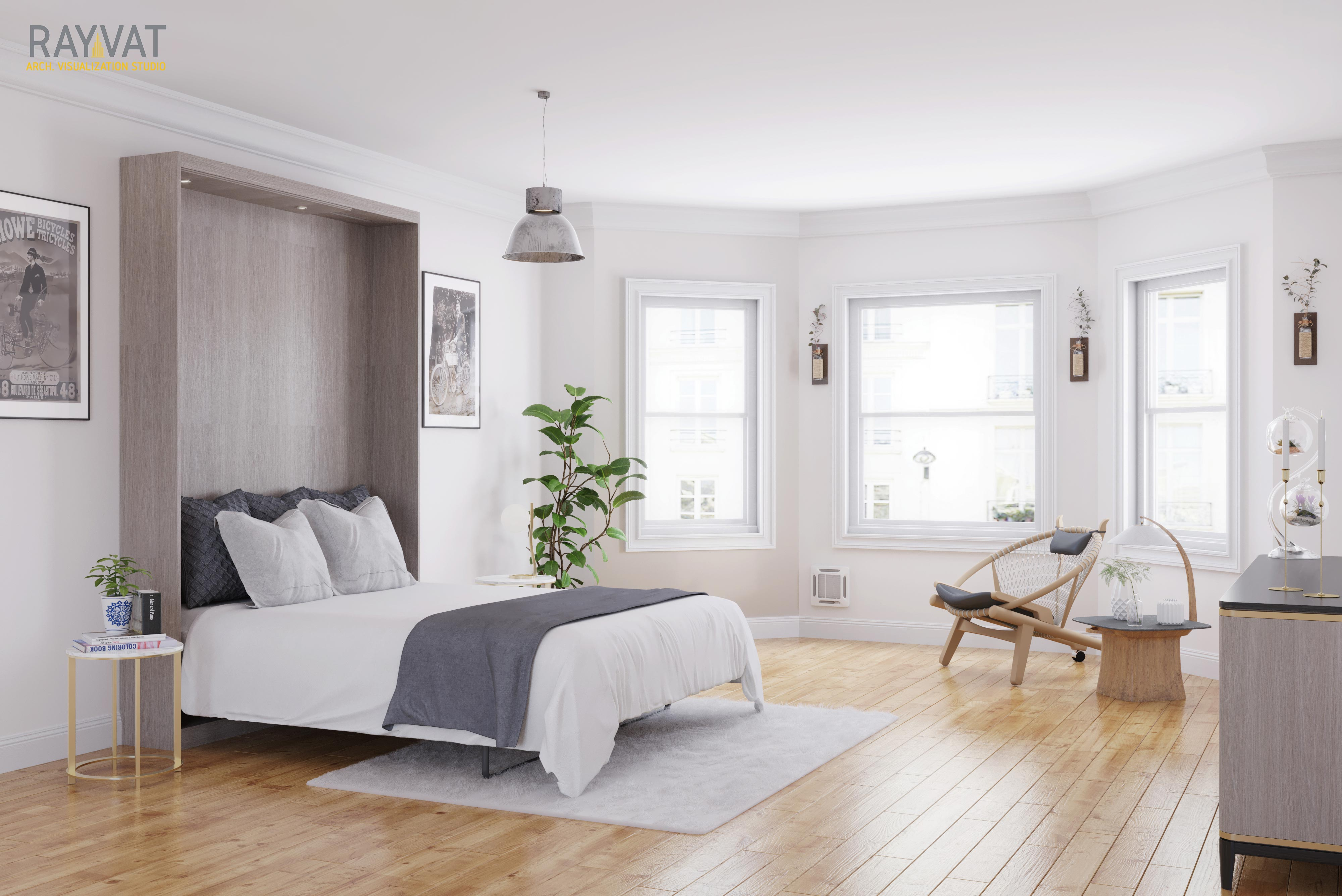 Zoom in on the details with CGI Bedroom Pictures