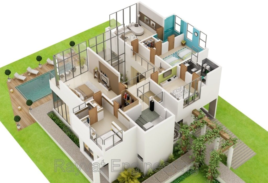 3D Architectural Visualization Services California