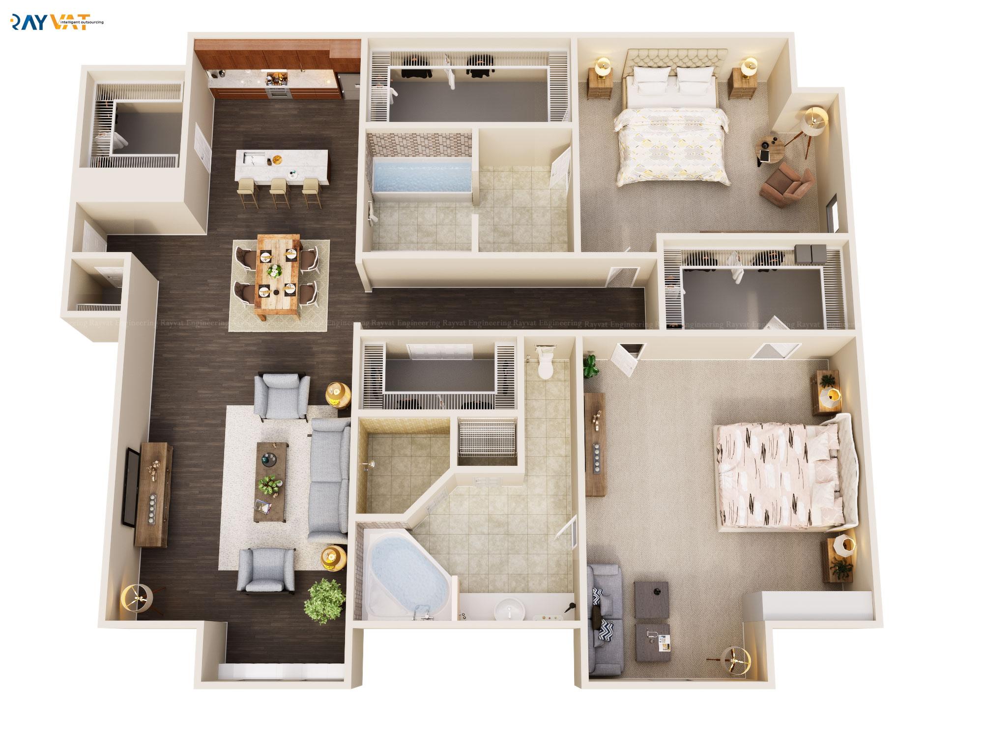3D Floor Plan New Trend