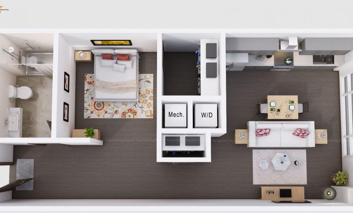 3D Floor Plan Design New York