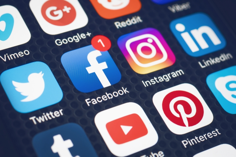 Launch Social Media Outlets