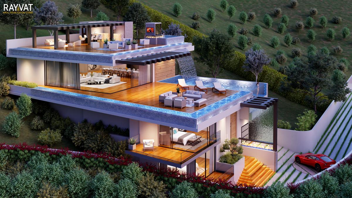 Real Estate Rendering Marketing