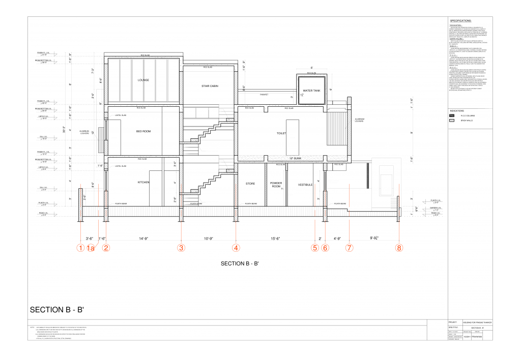 Constructions Design Drawings California - Outsourcing CAD Services